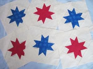 Six Just One Star Blocks